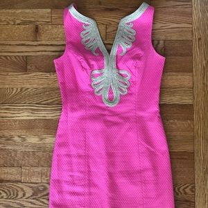 Pink Lilly Pulitzer dress sz 2